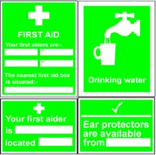 More info on First Aid Signs